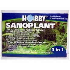 Sanoplant Tabletas Co2 Hobby